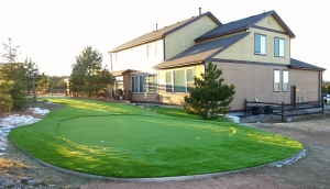 artificial turf residential landscaping - CO