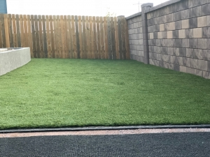 artificial grass lawn installation